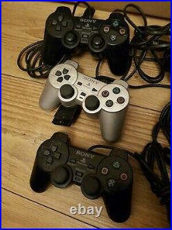 Playstation 2 Consoles x2 Bundle With 61 games 5 memory cards 3 Controllers ect
