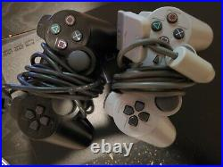 Ps2 Modded Region Free Incl. Hdd, Cables, Controllers, Memory Card
