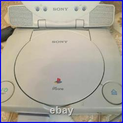 PsOne Ps1 Combo With LCD Screen SCPH-100 playstation + controller + memory card