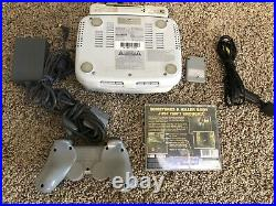 PsOne Ps1 Combo With LCD Screen with 1 controllers/memory card/1 game