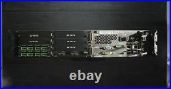 QSC Q-Sys Core 500i Digital Audio DSP Control Processor with Dante & 2 Analog Card