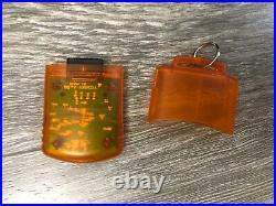 Rare Original Xbox Live Tester's Translucent Orange Memory Unit Card X08-25319