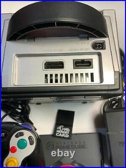 Resident Evil 4 Gamecube Console + Titan Concepts Controller And Memory Card Bun