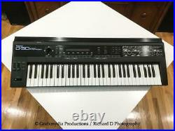 Roland D-50 61-Key Synthesizer with PG-1000 Controller, 3 Memory Cards, & power