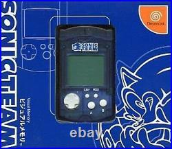 SEGA Dreamcast DC Sonic Team Limited Edition VMU Visual Memory Card USED