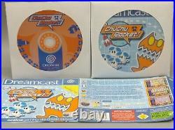 SEGA Dreamcast Konsole mit 4 Controllern, Spielen, Memory Cards u. Rumblepack