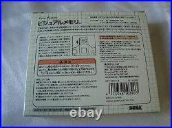 SEGA Dreamcast SGGG VMU Memory Card 8-Bit Limited VMU Visual Memory Unit Boxed