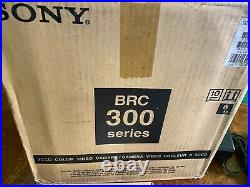 SONY BRC-300 CAMERA With BRBK-302 SDI CARD & RM-BR300 PTZ JOYSTICK CONTROLLER