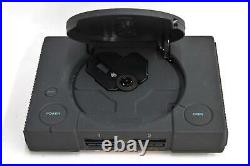 SONY Black PlayStation 1 Net Yaroze Console w Controller Cables & Memory Cards