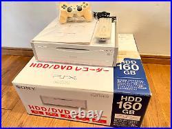 SONY PSX / PS2 Console DESR-5100 BOXED WORKING + FMCB Card +Controller DESR-10