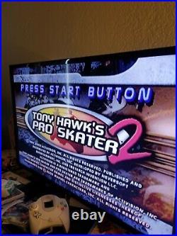 Sega Dreamcast Bundle 2 Controllers Memory Card Jump pack 5 Games Web Browser 2