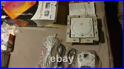 Sega Dreamcast Complete Box + 10 Games, 2 Extra Controllers and 4 Memory Cards