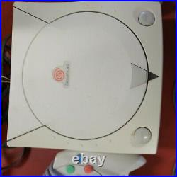 Sega Dreamcast Console Bundle 2 Controllers Memory Cards TESTED ORIGINAL +games