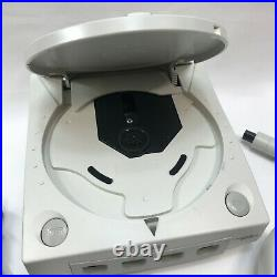 Sega Dreamcast Console Model HKT-3020 with Controller 7700 & Memory Card TESTED