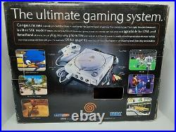 Sega Dreamcast Console WithBox +2 Controllers + 4 Games / Discs + Memory Card
