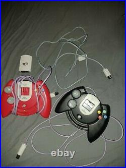 Sega Dreamcast Console With 20 Games Burned 2 Controllers Memory Card Tested