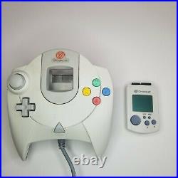 Sega Dreamcast Console in Original Box w 2 Controllers, Memory Card & Demo Disk