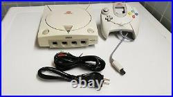 Sega Dreamcast White Console Bundle GDEMU + Controller + Cables + 256GB SD Card