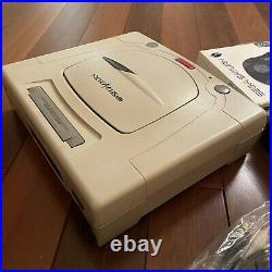 Sega Saturn Console FENRIR ODE Installed, 128GB SD CARD, wireless Controller