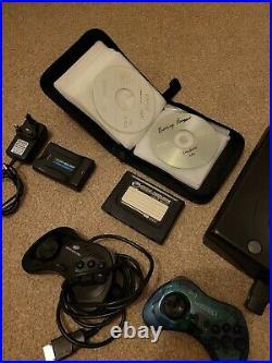 Sega Saturn console, memory card, pseudo card, wireless controller, hdmi, etc