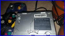 Silver Aluminum Gamecube Cables, 3 Controller, Memory Card DOL-001 DK