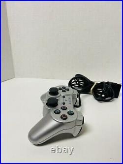 Sony PS2 Slim Silver Console PlayStation 2 SCPH-79001 With Memory Card, Controller