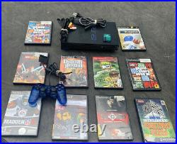 Sony PlayStation2 Console System SCPH-30001R With10 GAMES, Mem Card, & Controller