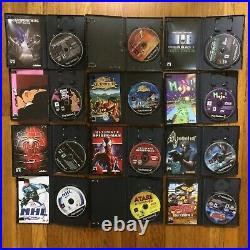 Sony PlayStation 2 Lot Fat PS2 With Controller, Memory Card, 20 Games All Working