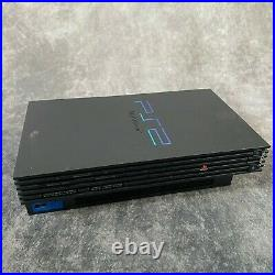 Sony PlayStation 2 PS2 Black Console Boxed + Controllers Mem Card 15 Game Bundle