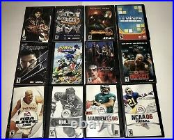Sony PlayStation 2 PS2 Console Bundle 2 Controllers, Memory Card & 25 Games Lot