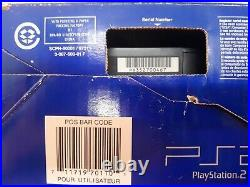 Sony PlayStation 2 PS2 Console SCPH-50001 with box/2 Controller/3 Games 8mb card