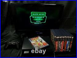 Sony PlayStation 2 PS2 Fat Console Bundle 12 games + Controller & Memory Card