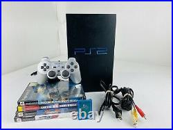 Sony PlayStation 2 PS2 Fat Console System Bundle withGame, Controller, Cords +Card