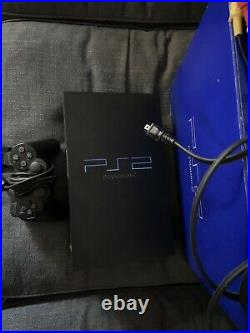 Sony PlayStation 2 PS2 Fat Video Console WithBox Controllers Memory Card & 7Games
