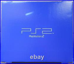 Sony PlayStation 2 with 3 controllers, 2 memory cards, 15 games, original box