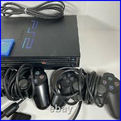 Sony PlayStation PS2 Fat Console Bundle With40 Games, 3 Controllers, 3 8MB Cards