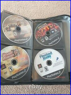Sony Playstation 2 /Ps2 bundle 90 games 2 controllers and 3 memory cards