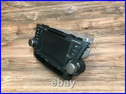 Toyota Oem Highlander Front Navigation Radio Stereo Headunit Monitor 2008-2010