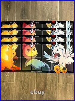 Unstable Unicorns Control & Chaos / Kickstarter Promo Cards + 2 Cosplay Unicorns