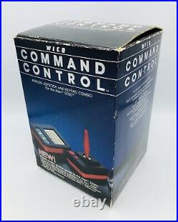 WICO Command Control Atari 5200 Joystick & Keypad with Box And Warranty Card