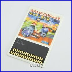 WOODY POP with Paddle Controller Sega My Card Mark III 0292 m3