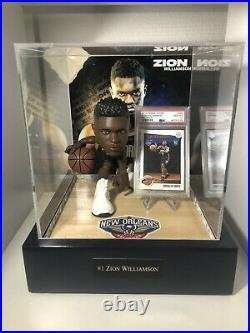 Zion Williamson 1/1 Display Case with multi color control. Witho PSA 10 card