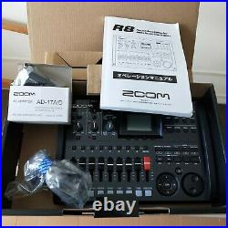 Zoom R8 Digital Recorder with SD card Interface Controller Sampler
